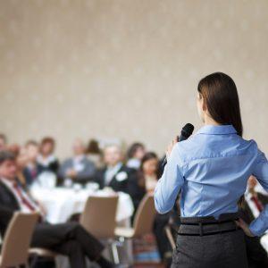 How do you speak in public?