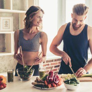 Prepare simple, healthy foods